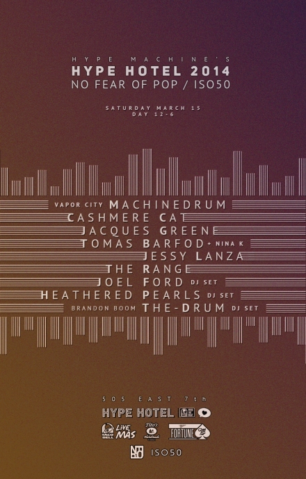 Hype Machine S Hype Hotel Presented By Taco Bell Nfop Iso50